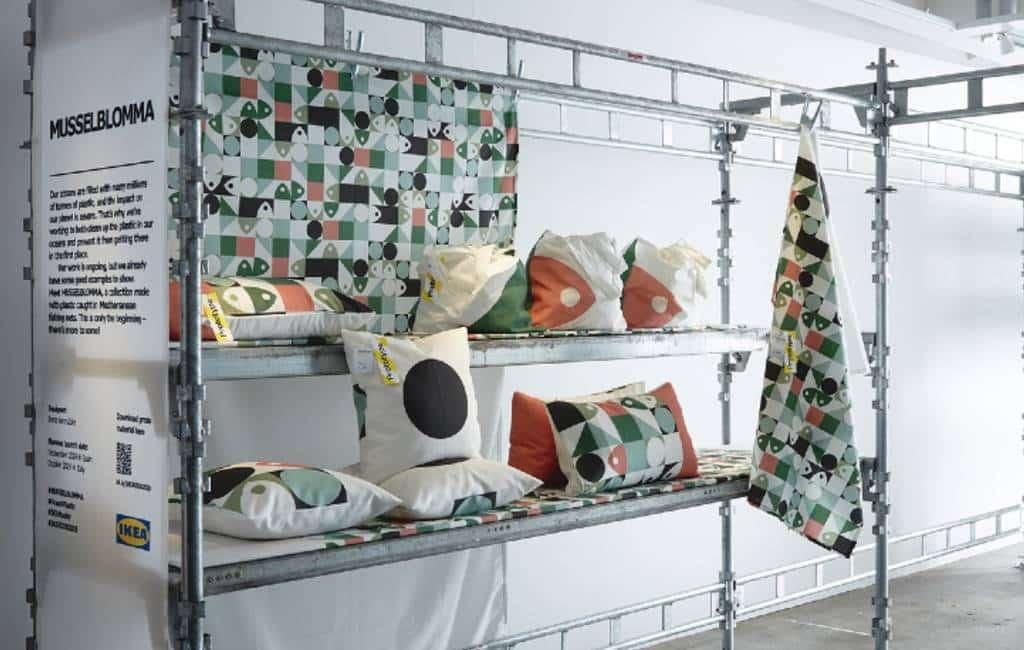 Spaanse vissers leveren zee-plastic aan Ikea voor nieuwe collectie