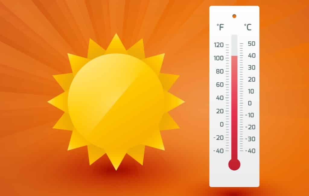 Hittegolf Spanje: hoogste temperatuur donderdag was 42,6 graden