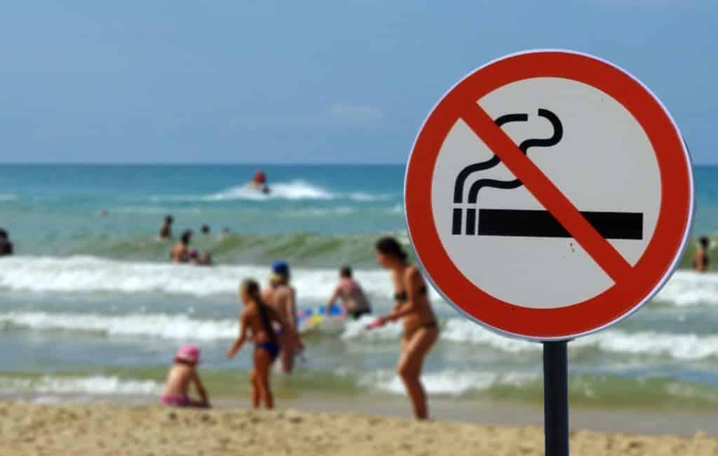 Mallorca heeft eerste rookvrije strand