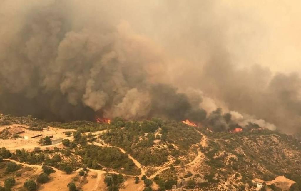 Opnieuw grote natuur- en bosbrand in Tarragona