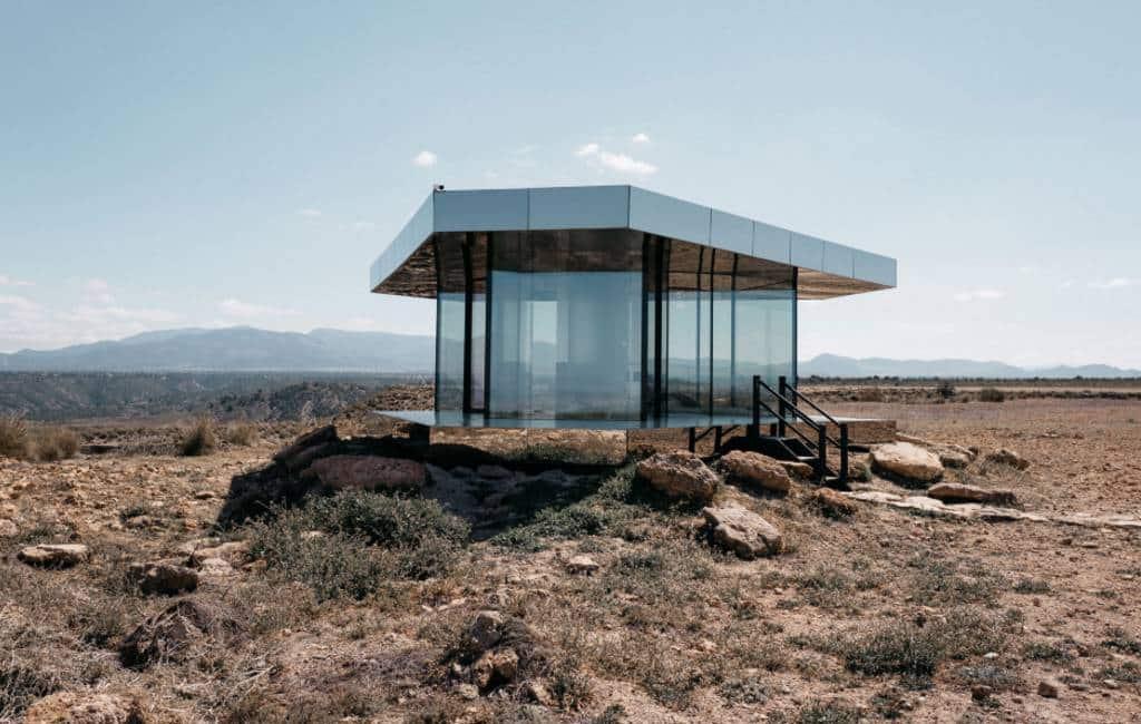 Woestijnhuis Granada te zien in Black Mirror Netflix serie
