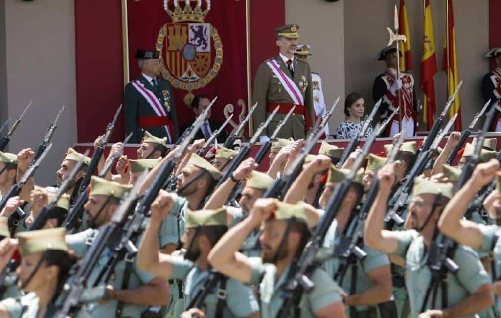 Dag van de Strijdkrachten in Sevilla