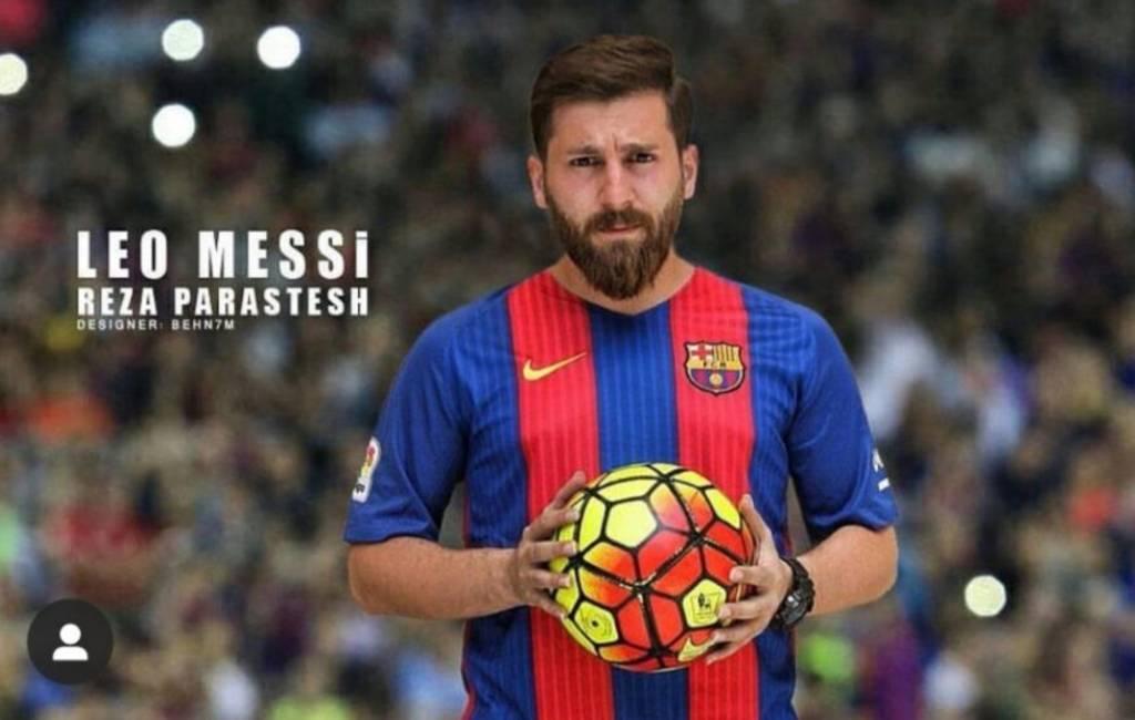 Dubbelganger Lionel Messi ontkent het versieren van vrouwen