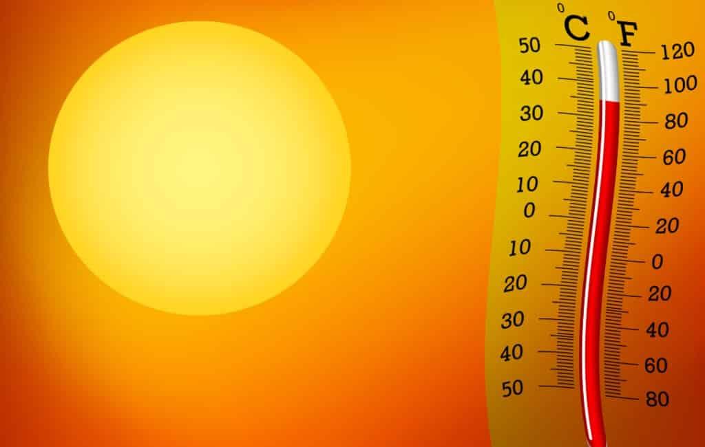 Temperaturen Spanje stijgen tot boven de 40 graden