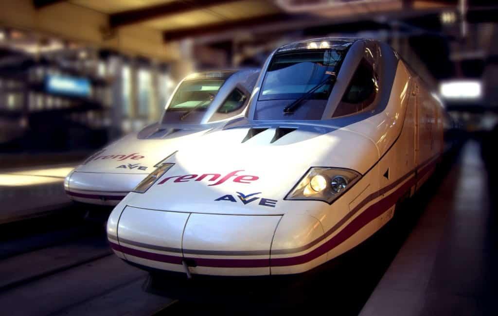 Van Barcelona en Madrid naar Granada met de hogesnelheidstrein