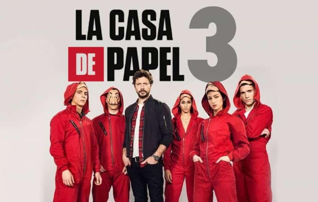La Casa del Papel deel 3 als eerste te zien in 11 steden in Spanje