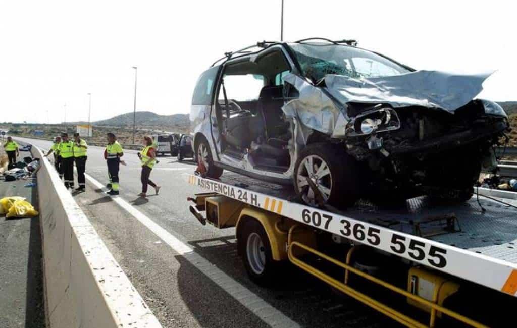 Nederlandse man en Belgische baby omgekomen bij ongeval AP-7 Alicante