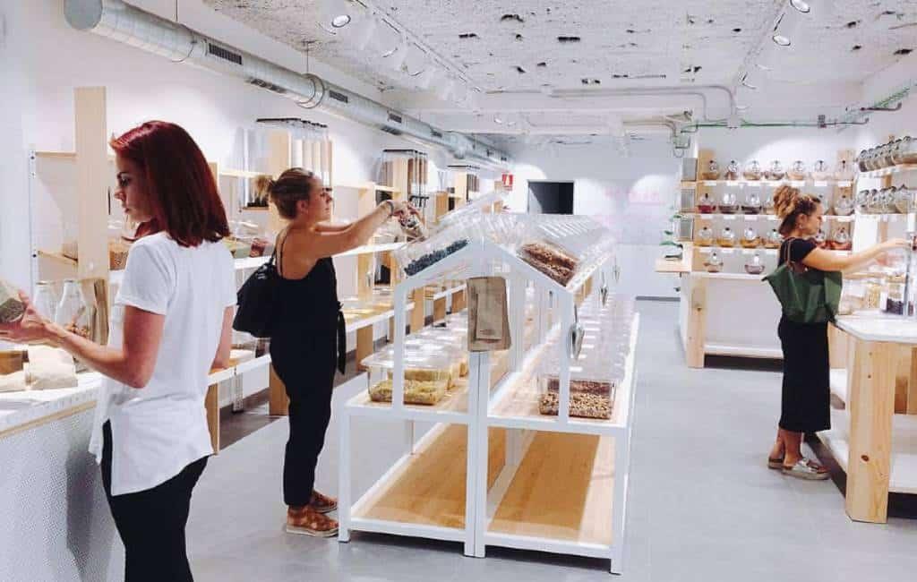 De opkomst van de plasticvrije supermarkten in Spanje