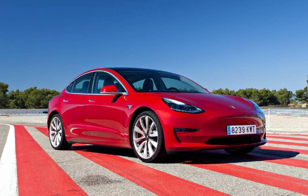 Hoge verkoop Tesla 3 model in Spanje dankzij pre-venta