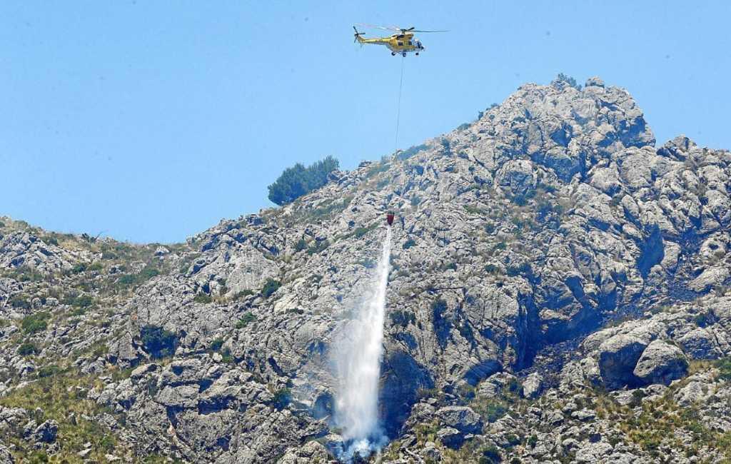 Mallorca geteisterd door vier bosbranden