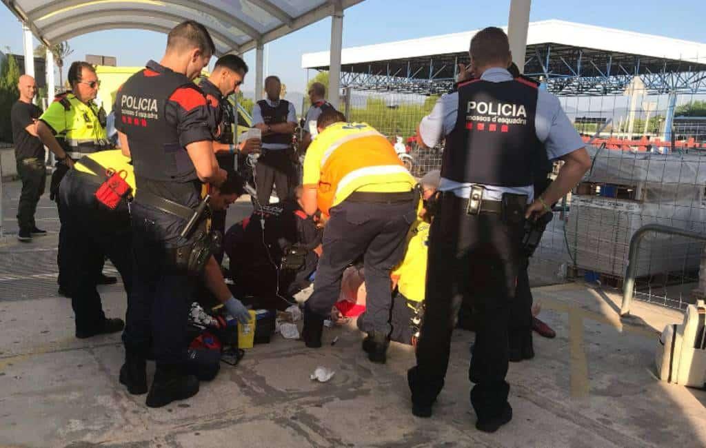 Nederlandse toerist bedankt Catalaanse politie voor het redden van haar leven