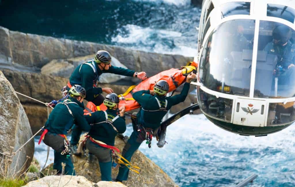 Toename van reddingen wandelaars in bergen Spanje