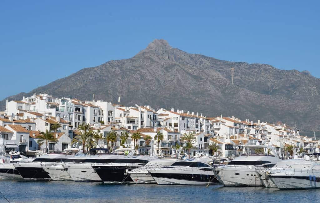 Puerto Banus duurste haven van Spanje en Europa