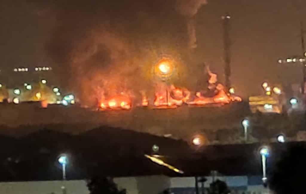 Grote brand in chemische opslagplaats Tarragona (UPDATE)