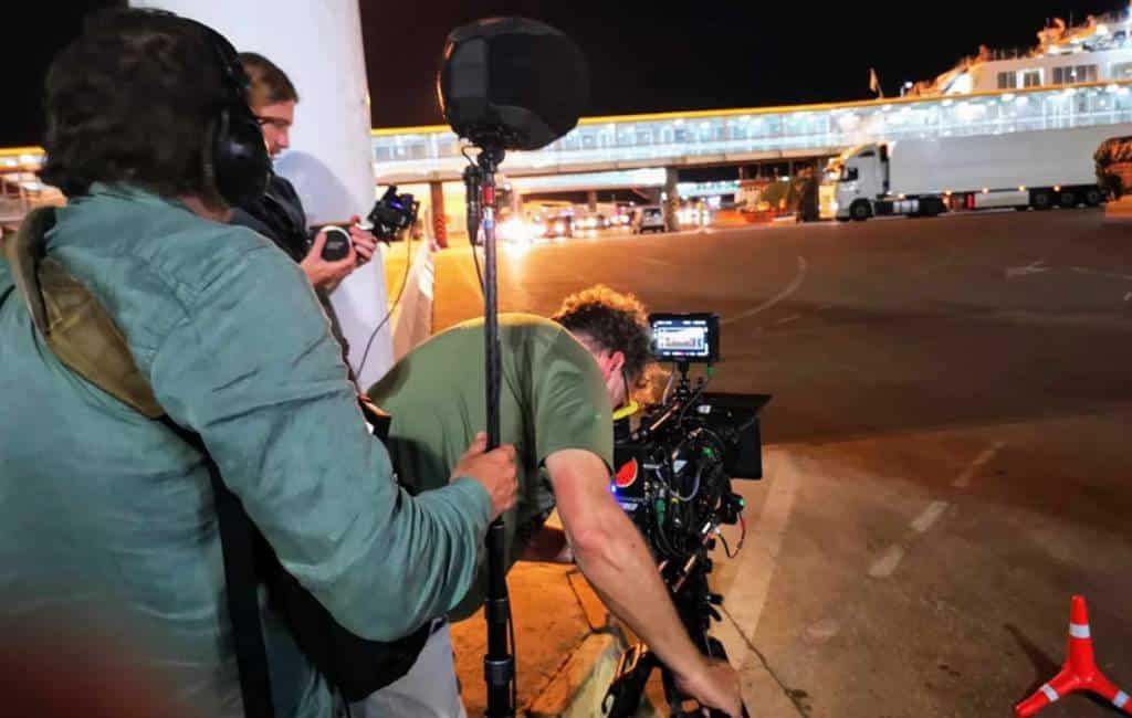 Opnames voor Nederlandse film in Almería