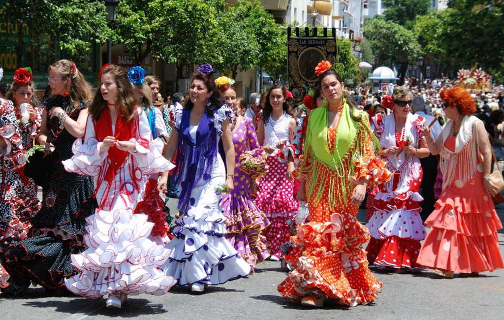 Feria de Málaga tussen 15 en 24 augustus