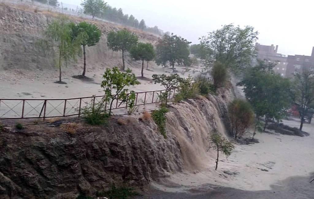 Veel regen en overstromingen door slecht weer in Spanje