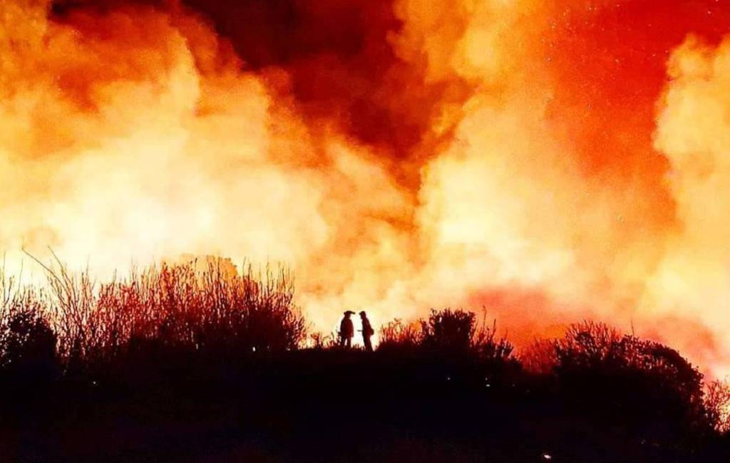 Nieuwe bosbrand Costa del Sol bij Marbella met 50 evacués