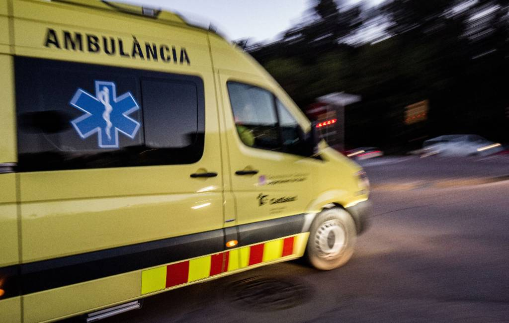 Belgische vespa-rijder gewond geraakt in de Ebro Delta in Tarragona