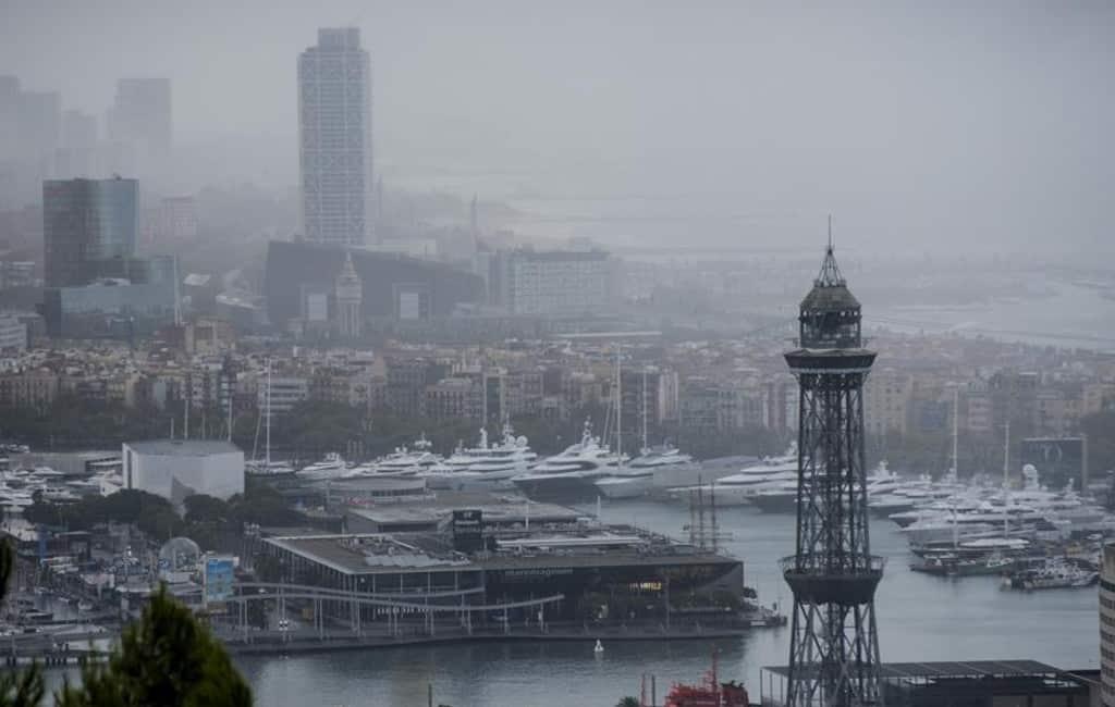Regen zorgt voor problemen in Catalonië