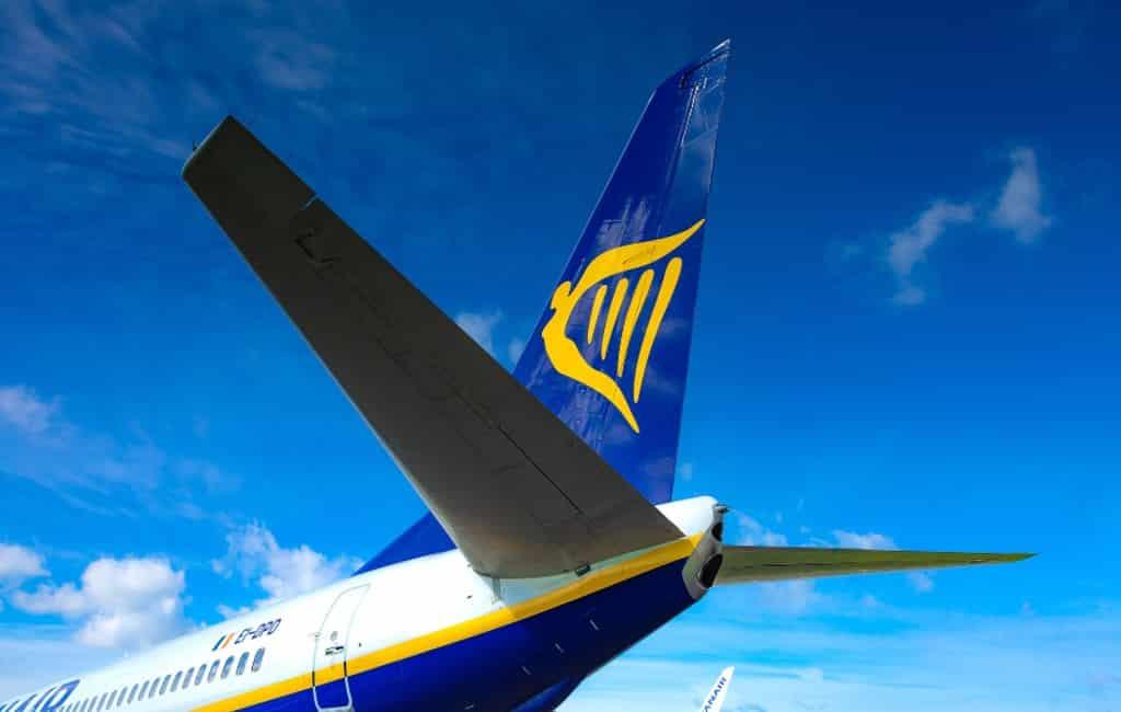 Piloten Ryanair Spanje gaan ook staken in september