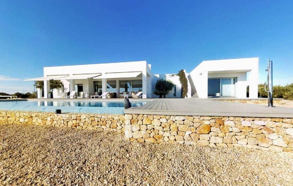Duurste plaatsen om een huis te kopen zijn te vinden op de Balearen