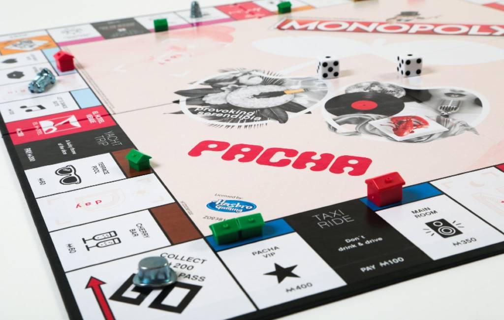 Pacha discotheek Ibiza heeft eigen Monopoly spel