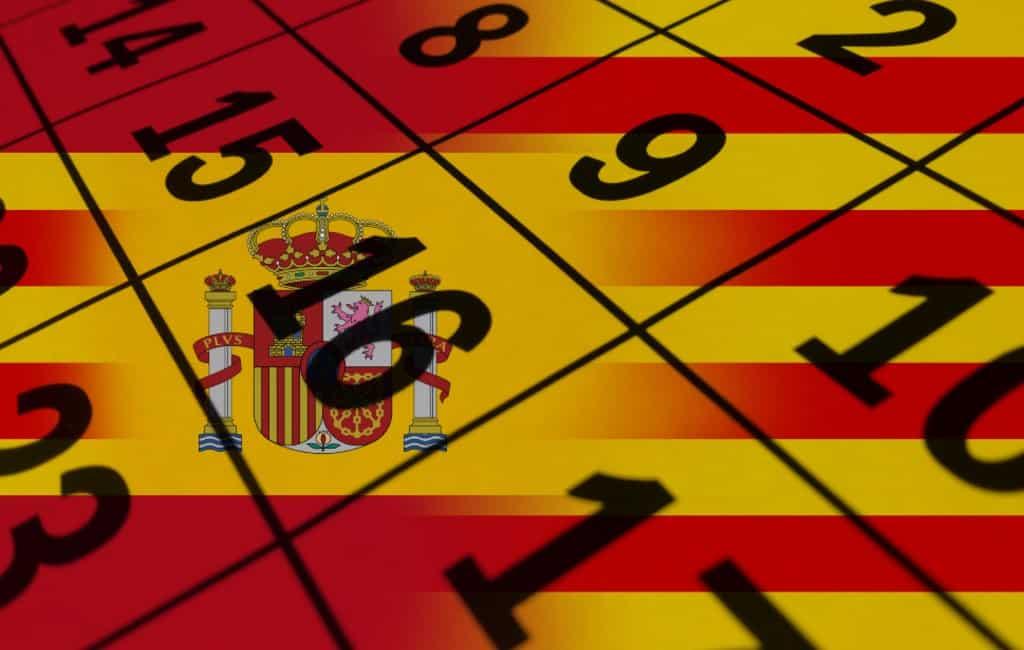 Catalaanse ambtenaren mogen werken op nationale 'Spaanse' feestdagen