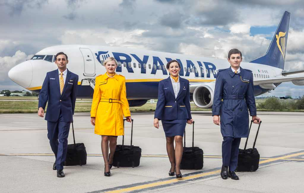 Cabinepersoneel Ryanair Spanje gaat staken in september
