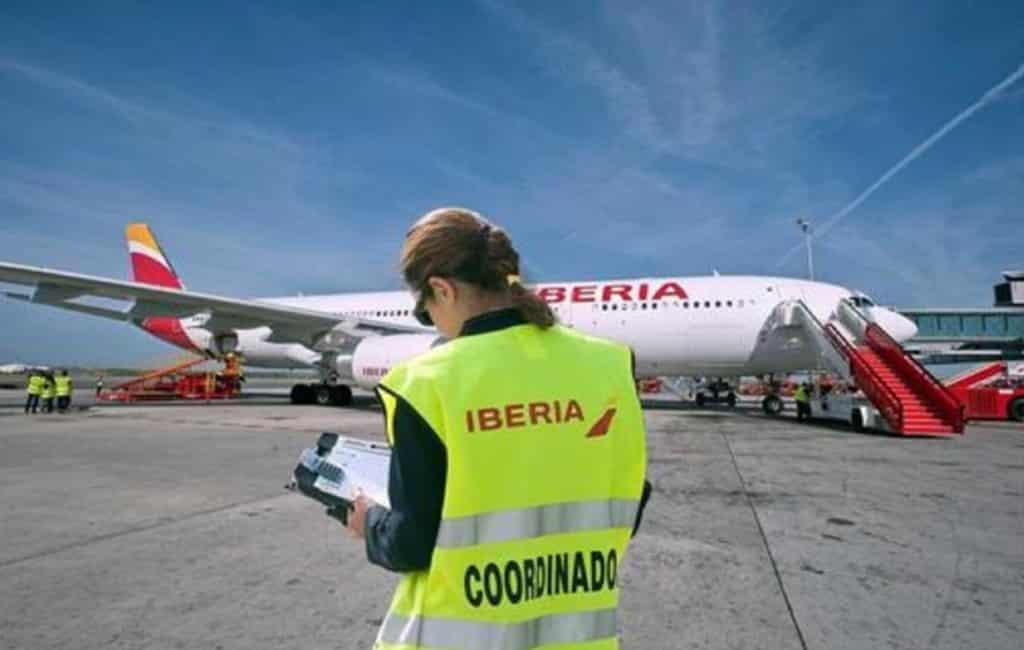 Staking grondpersoneel Iberia in Madrid en Barcelona eind augustus