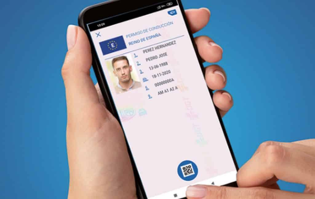 Je rijbewijs op de smartphone binnenkort mogelijk in Spanje
