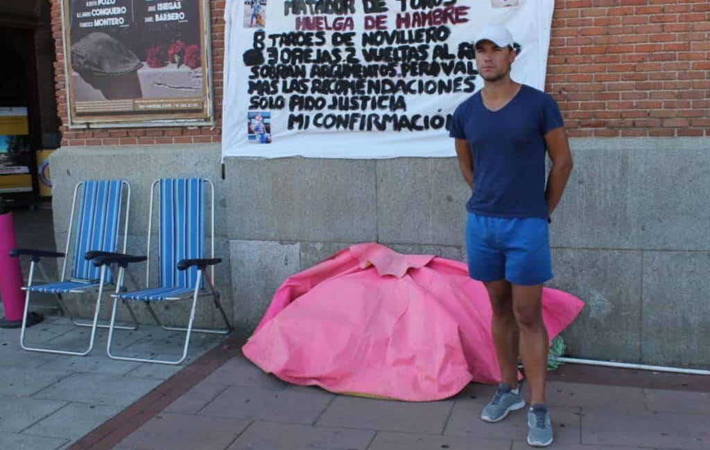 Stierenvechter houdt hongerstaking in Madrid