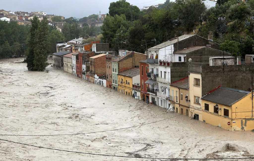 774 miljoen euro voor hulp na overstromingen en branden Spanje