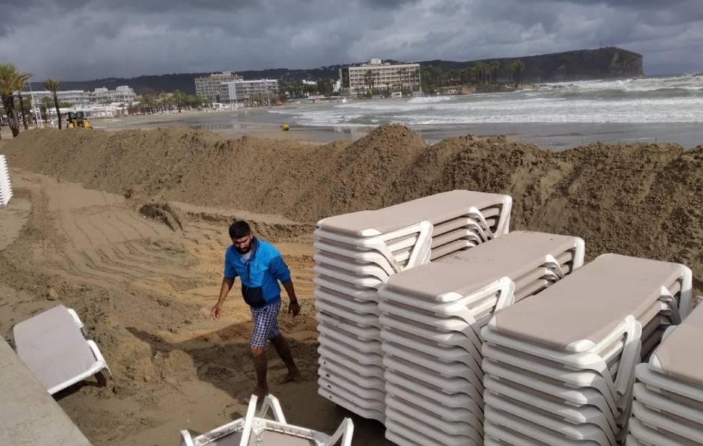 Regio Valencia, Murcia en Almería voorbereid op 'medicane' storm