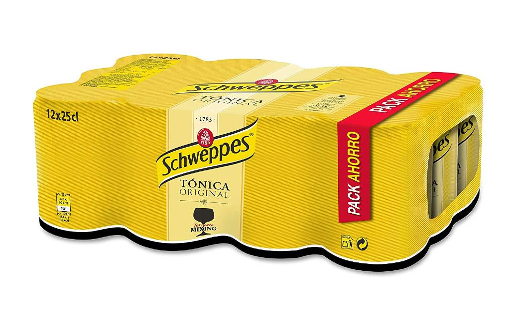 Coca Cola mag geen Schweppes Tonic meer verkopen in Spanje