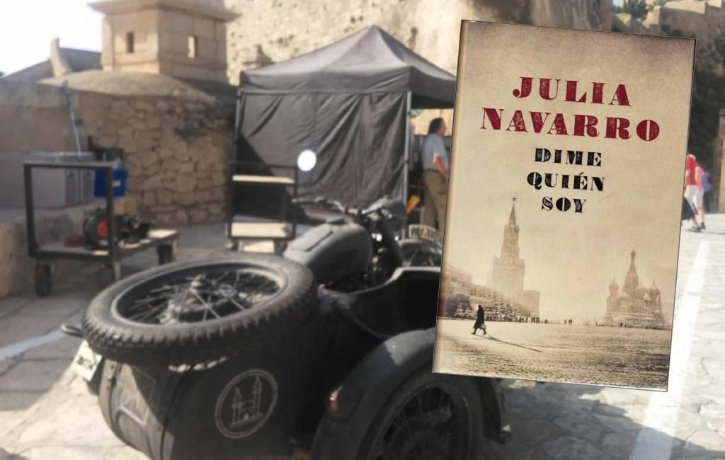 Netflix en Movistar+ serie opnames bij Santa Barbara kasteel in Alicante