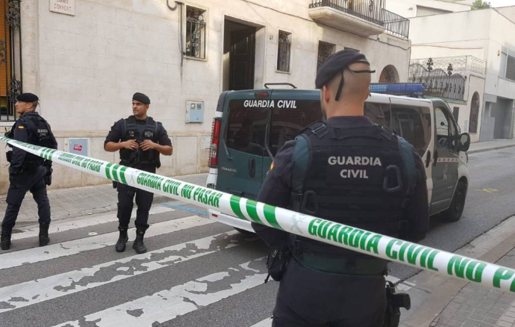 Politie arresteert Catalaanse separatisten met explosief materiaal