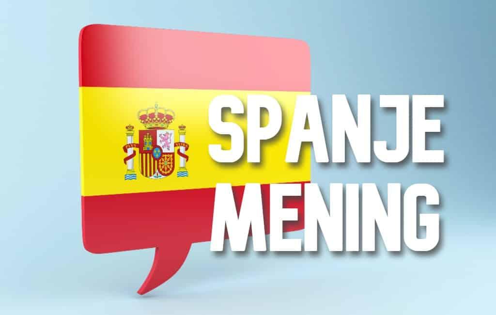 MENING: Wat vindt jij van de politiek en politici in Spanje