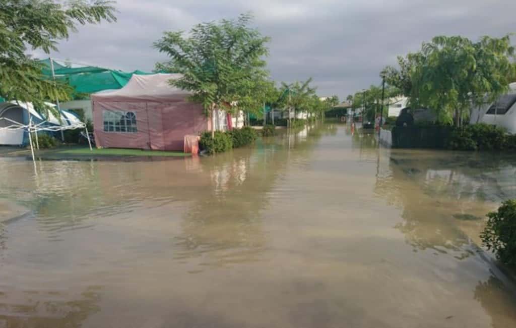 1.500 campinggasten in Alicante geëvacueerd om overstroming