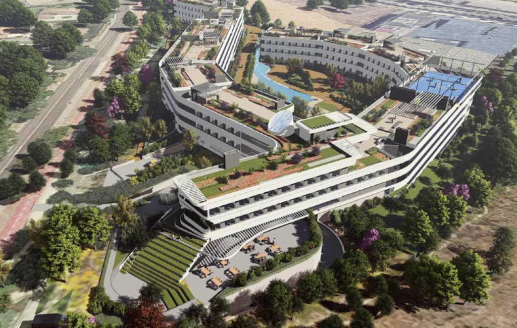 Nederlanders bouwen grootste studentencomplex van Madrid