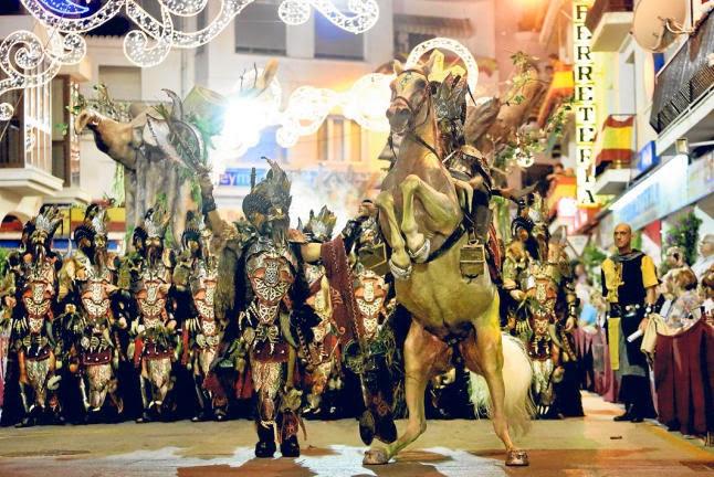 40 jaar 'Moros y Cristianos' feest in Altea