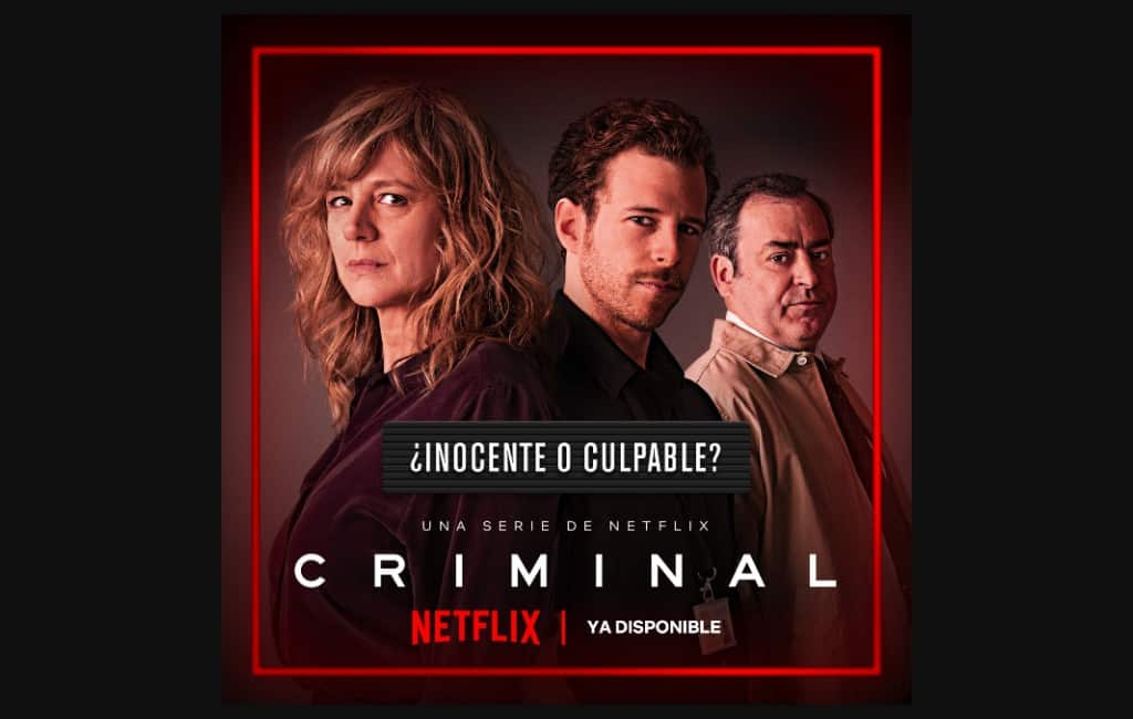 Internationale Netflix thrillerserie 'Criminal' ook in Spanje opgenomen