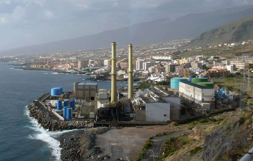 Eiland Tenerife zonder elektriciteit