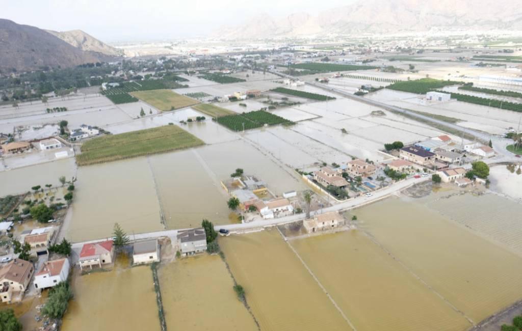 Situatie overstromingen Costa Blanca (foto's)
