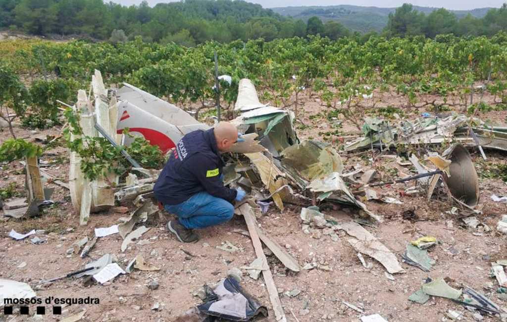 Twee doden bij vliegtuigongeluk Tarragona