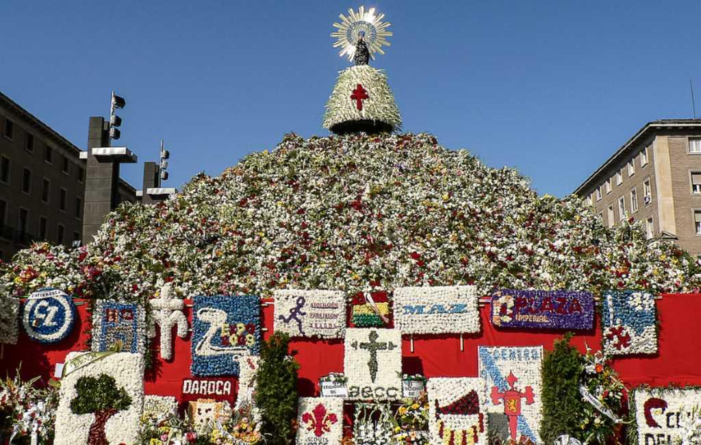 Fiestas del Pilar in Zaragoza