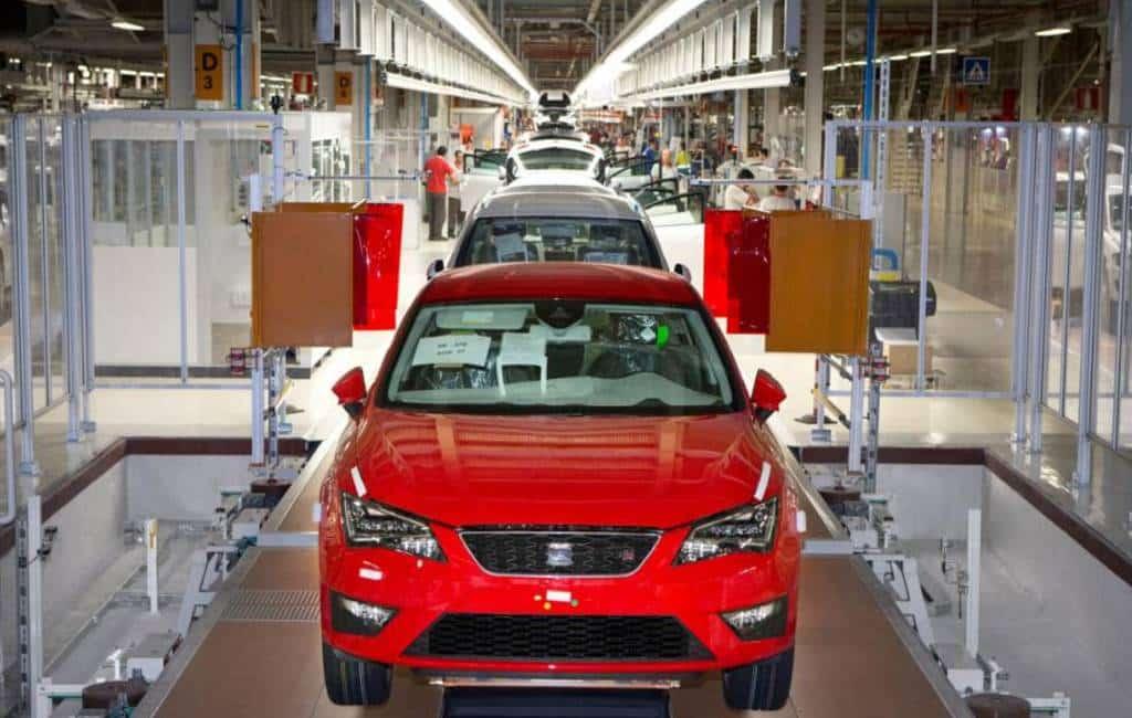 Top 10 personenwagens die in Spanje gemaakt worden