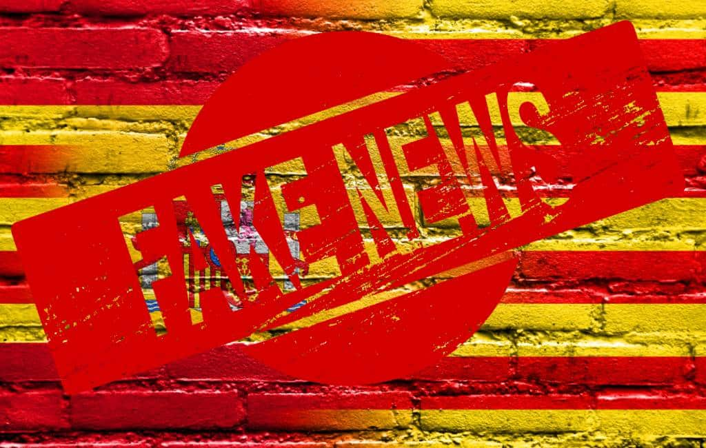 'Bulos' of fake news over de situatie en gebeurtenissen in Catalonië