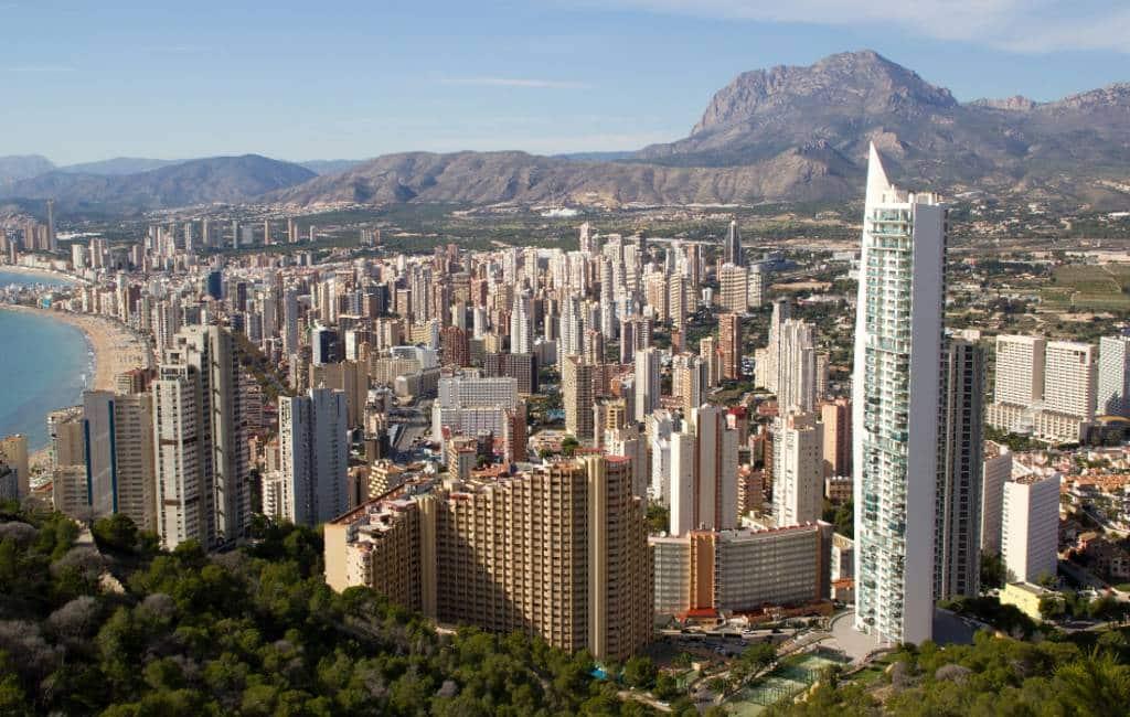 Verandering van aanbod hotels Valencia regio afgelopen 28 jaar