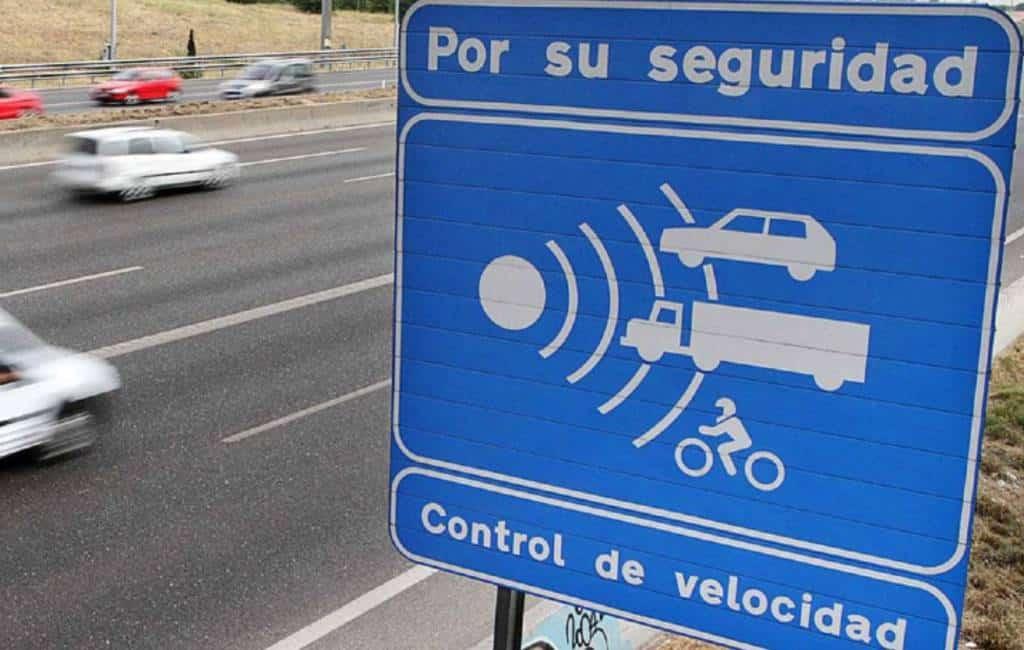 Flitspalen die het meest bekeuren in Spanje en radar-typen